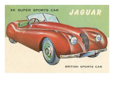 Super Sports Car--Art Print