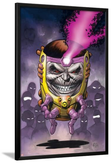 Super-Villain Team-Up/MODOKs 11 No.1 Cover: M.O.D.O.K. Fighting--Lamina Framed Poster