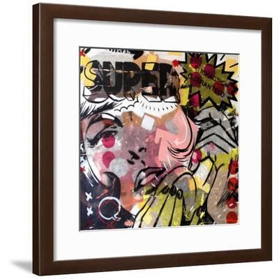 Super!-Dan Monteavaro-Framed Giclee Print