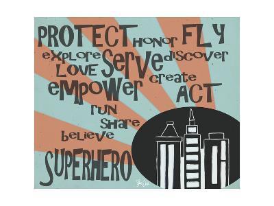 Superhero-Shanni Welsh-Art Print