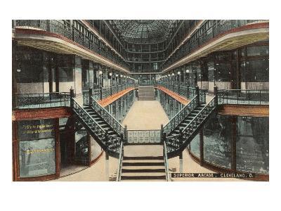 Superior Arcade, Cleveland, Ohio--Art Print