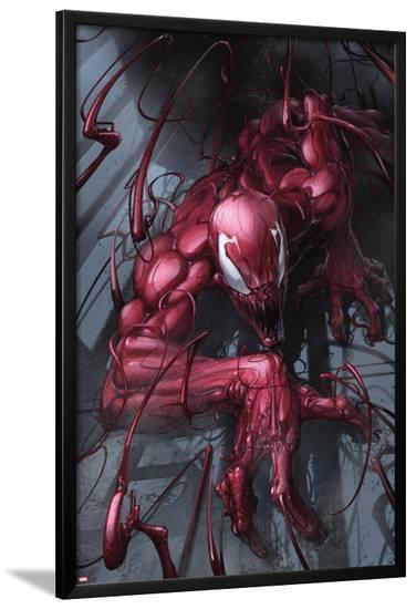 Superior Carnage #1 Cover: Carnage-Clayton Crain-Lamina Framed Poster