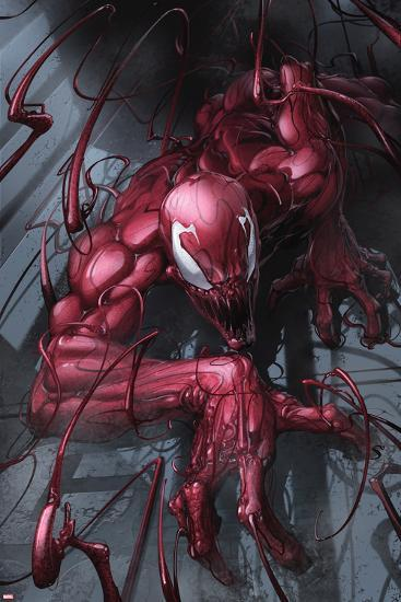Superior Carnage #1 Cover: Carnage-Clayton Crain-Poster