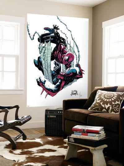 Superior Spider-Man #18 Cover: Spider-Man, Spider-Man 2099-Ryan Stegman-Wall Mural