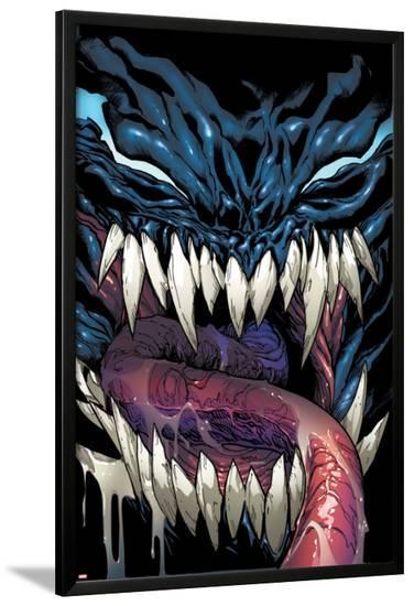 Superior Spider-Man #24 Cover: Venom-Humberto Ramos-Lamina Framed Poster
