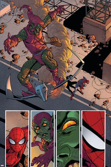 Superior Spider-Man #31 Featuring Spider-Man, Green Goblin-Giuseppe Camuncoli-Art Print