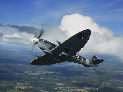 Supermarine Spitfire Mk.XVI Fighter Warbird of the Royal Air Force-Stocktrek Images-Photographic Print