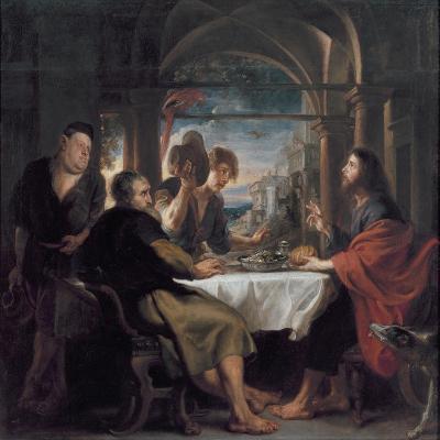 Supper at Emmaus, c.1638-Peter Paul Rubens-Giclee Print