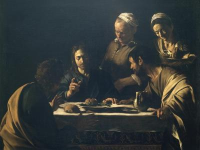 Supper at Emmaus-Caravaggio-Giclee Print
