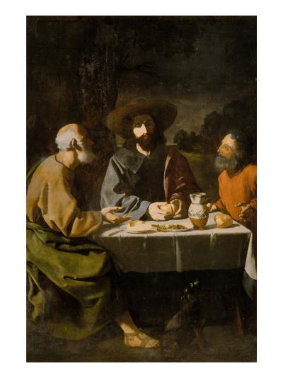Supper at Emmaus-Francisco de Zurbar?n-Giclee Print