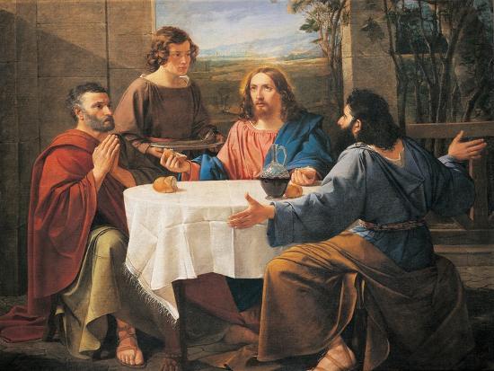 Supper at Emmaus--Giclee Print