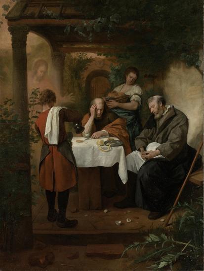 Supper at Emmaus-Jan Havicksz Steen-Art Print