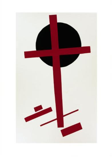 Suprematismus, c.1927-Kasimir Malevich-Serigraph