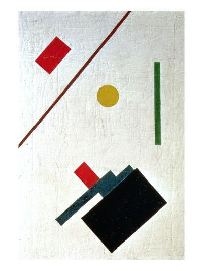 Suprematist Composition, 1915-Kasimir Malevich-Giclee Print