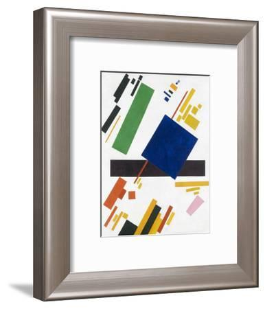 Suprematist Composition by Kazimir Malevich-Kasimir Malevich-Framed Giclee Print
