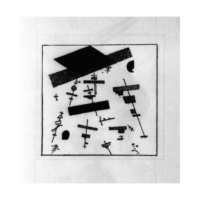 Suprematist Drawing-Kasimir Malevich-Giclee Print