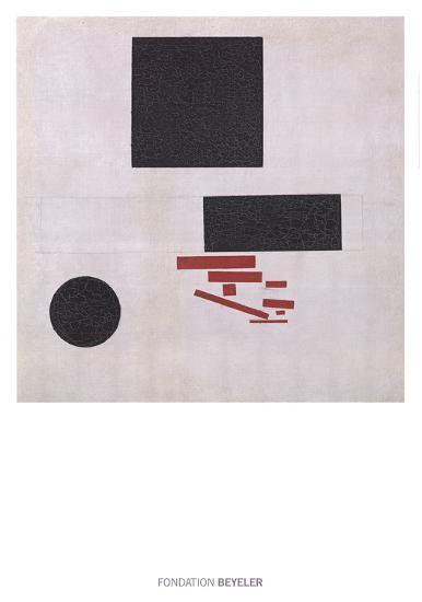 Suprematistische Komposition-Kazimir Malevich-Art Print