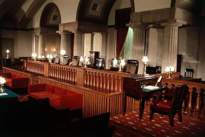 Supreme Court without Occupants--Photographic Print