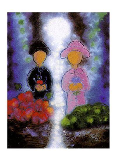 Sur le Meme Chemin-Bernard Seguin-Poirier-Art Print