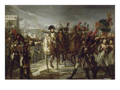 Sur le pont de Lech, à Augsbourg le 12 octobre 1805.-Pierre Gautherot-Giclee Print