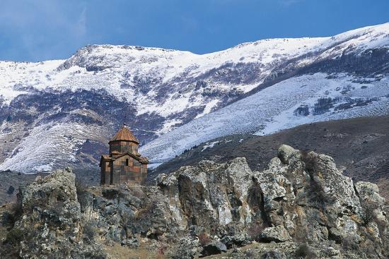 Surb Sarkis Church, Bjni, Armenia--Photographic Print