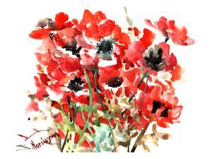 Anemones Red by Suren Nersisyan