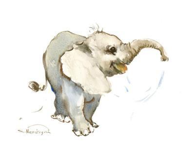 Baby Elephant by Suren Nersisyan