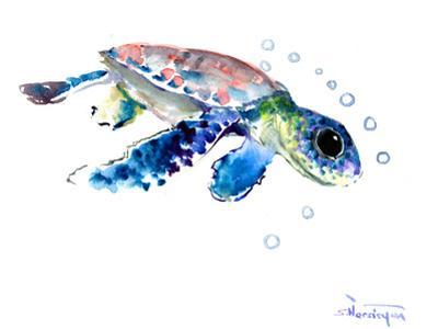 Baby Sea Turtles 1 by Suren Nersisyan