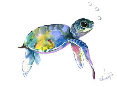 Baby Sea Turtles 2 by Suren Nersisyan