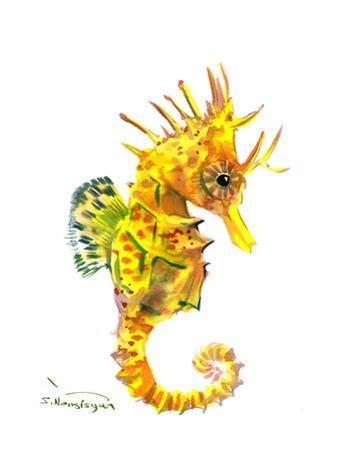 Baby Seahorse by Suren Nersisyan