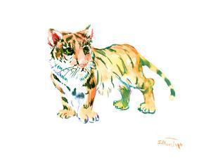 Baby Tiger by Suren Nersisyan