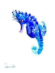 Blue Seahorse by Suren Nersisyan