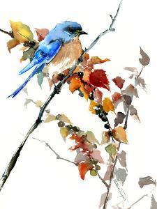 Bluebird And Fall by Suren Nersisyan