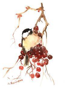 Chickadee 14 by Suren Nersisyan
