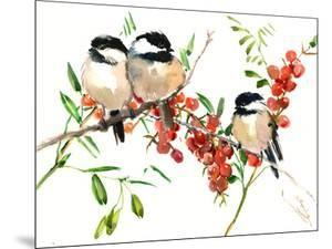 Chickadees 1 by Suren Nersisyan