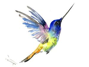 Hummingbird 9 by Suren Nersisyan