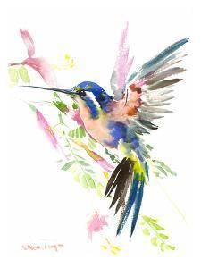 Hummingbird Flying by Suren Nersisyan