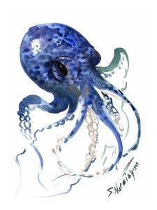 Octopus Blue by Suren Nersisyan