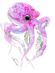 Octopus Pink by Suren Nersisyan