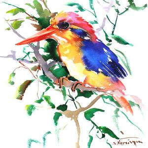 Oriental Kingfisher by Suren Nersisyan