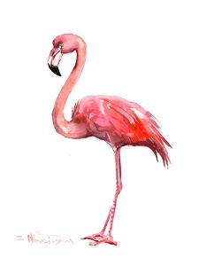 Pink Flamingo by Suren Nersisyan