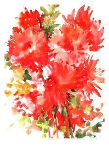 Red Dahlias by Suren Nersisyan