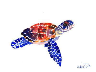 Sea Turtle Babe by Suren Nersisyan