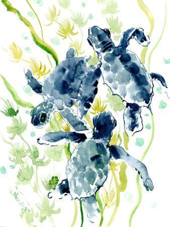 Sea Turtles by Suren Nersisyan