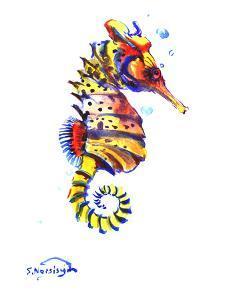 Seahorse by Suren Nersisyan