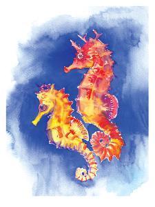 Seahorses by Suren Nersisyan