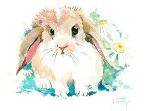 Suren Bunny Flower by Suren Nersisyan