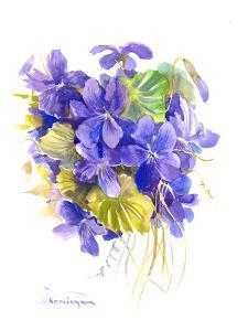 Violets by Suren Nersisyan