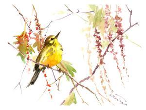 Warbler In Spring by Suren Nersisyan