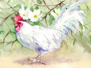 White Rooster by Suren Nersisyan